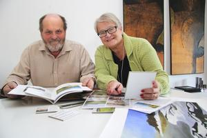 Staffan Sandler och Lena Köster delar kärleken till skärgården.