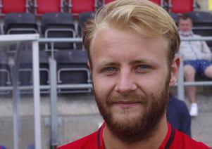Curtis Edwards – ny mittfältare i ÖFK:s allsvenska trupp.