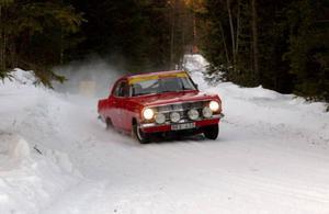 Efter skogsvägarna i Fyrås gick det fort... Foto: Jonas Ottosson