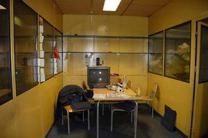 Fikarum som användes av personalen när kätting tillverkades i lokalerna.