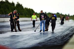 Jim Forsberg var en av tävlingens yngre deltagare. Han och familjen kommer från Uppsala, men det långa avståndet är inget som skrämmer.