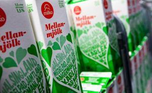 Snart får Milko trängas med Arla i kyldisken på Hemköp.Foto: Håkan Luthman