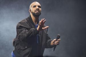 Drake är världens mest spelade artist på Spotify i år. Arkivbild.