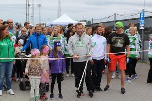 Bissen Brainwalk i Västerås.