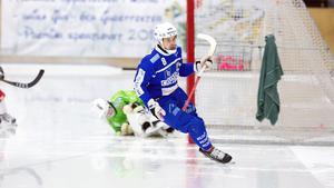 Fredrik Rydberg har just gjort sitt tredje mål.