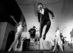 Jerry Williams i början av sin karriär på en konsert på Gröna Lund 1966.
