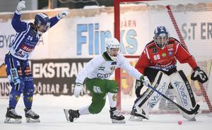 Kalle Mårtensson hann före Martin Johansson på ett lyft och gjorde mål. Men den här matchen lär han minnas för något helt annat...