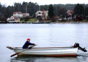 Inte motorstopp, Lennart Söderhäll tränar bara för Vasaloppet.