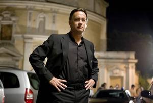 Åt vilket håll ska professorn springa nu då? Tom Hanks är förvirrad.