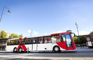 Bussarna mellan Gävle och Sandviken kanske snart körs 10 kilometer i timmen snabbare på motorvägen.