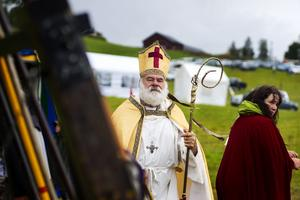 Förr i tiden passerade korsriddare genom Jämtland via Pilgrimsleden.
