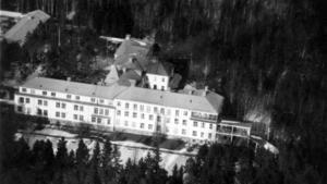 Skogsfjällets sanatorium i Västerås ritades av arkitekten Ernst Stenhammar. Bilden är från slutet av 1940-talet.