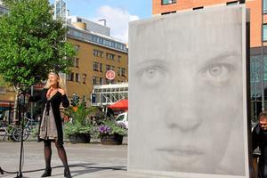 Anne-Karin Furunes har skapat konstverket Sara.