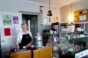 Gun Berg har ägt Café Bogården i 25 år