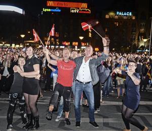 Danmark vann Eurovision i fjol. Nu är det klart att Sverige hamnar på den övre halvan i semifinal 1 i Eurovision Song Contest i Köpenhamn i maj.
