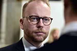 Kulturutskottets ordförande Olof Lavesson (M).