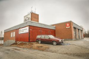 Brandstationen i Gällö.  Foto: Jens Larsson
