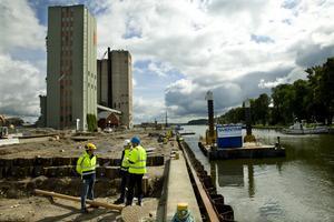 Investeringen på 712 miljoner täcker infrastruktur i området från stadskärnan till Hamnvägen i öster.