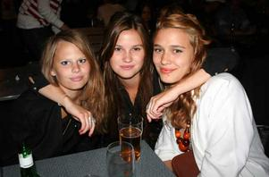 Isabella, Amanda och Bella.