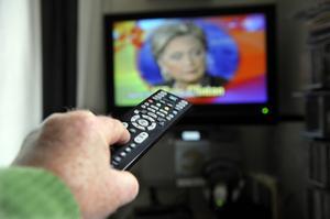 Tv-tittandet minskade i Sverige under 2013.