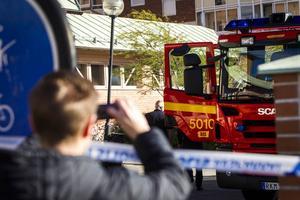 Den 30 september anlades en brand i förvaltningshuset i Ljusdal.