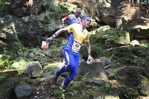 Martin Regborn i EM-bronsloppet (arkivfoto).