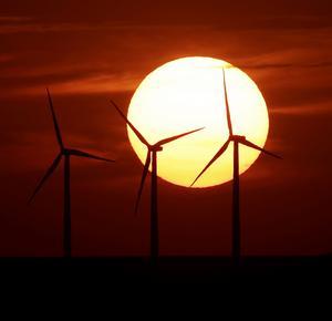 Vindkraft. Det behövs mer satsningar för att nå energimålen.