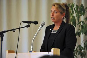 Slutade – och inte. Jenny Nordahl lämnade tidigt i år rollen som distriktsordförande för SD Dalarna. Madelene Vestin tog över. Nordahl hade dock inga planer på att ge upp kampen om distriktets framtid. (Arkivbild)