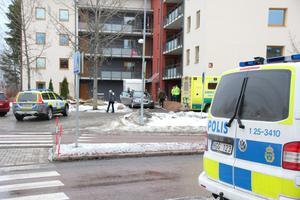 Olyckan inträffade på övergångstället vid rondellen på Galgberget.
