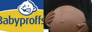 Först fick de gravida sluta. Sedan anställdes en ny medarbetare - som inte var gravid. Magen på bilden tillhör dock ingen av dess kvinnor.