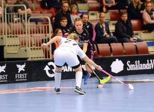 Patricia Forsell gjorde tre mål i första matchen, men blev mållös i returen.
