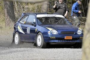 Andreas Israelsson från Vansbro segrade i tvåhjulsdrivet
