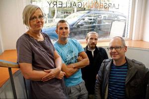 Annamari Hartwig, Gustav Retzler, Gustav Kape Lindqvist och Magnus Werme, kommer alla att ställa ut i källaren hos Lars Bolin.