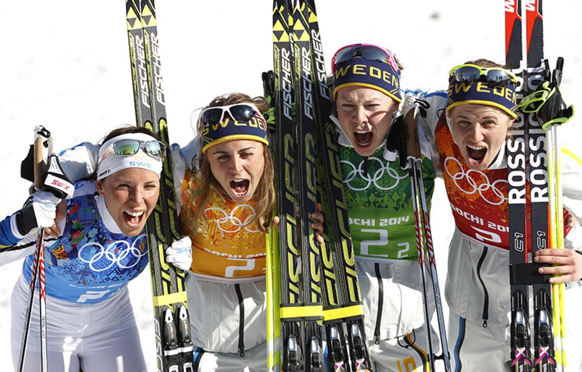 OS-guld till stafettdamer
