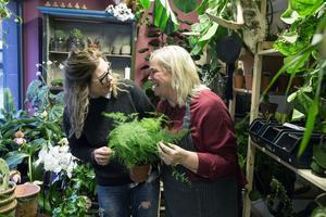 –Det ju så kul att ha sällskap, säger Stina och Irene. Vi inspirerar varandra och utbyter jättemycket idéer.