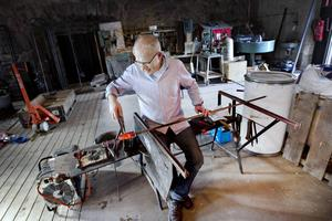 Stefan Erlandsson, glasblåsare.