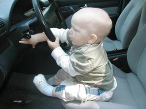 Herman, en ung men intresserad bilförare!!