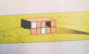 Hittills finns husen bara på skisstadiet, men idén är färdig och ska nu presenteras för Östersunds kommun.