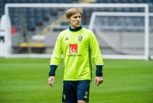 Emil Forsberg är en av favoriterna till Guldbollen som delas ut till Sveriges bästa fotbollsspelare under året.