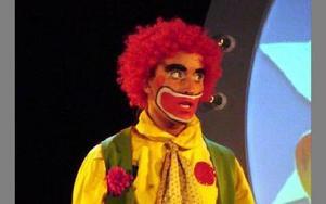 Anna som clown i showen.FOTO: PRIVAT