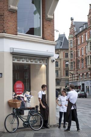 Pausande kockar i Köpenhamn.   Foto: Annika Goldhammer