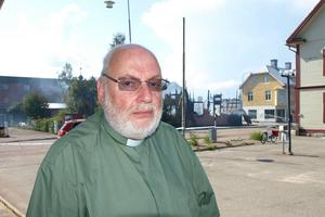Diakon Roger Ideborg är ansvarig för kommunens krishantering i Posomgruppen.