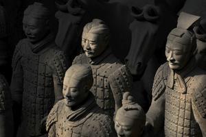 Den makalösa terrakotta-armén utanför Xian är en av Asiens största sevärdheter.