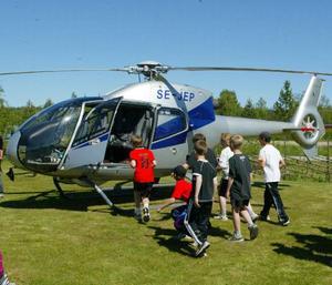 Helikopterföretaget Ostermans, med filial i Östersund blir nu åter svenskt.