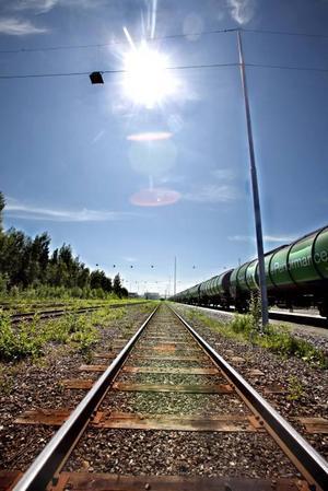 Den nya järnvägen till Gävle hamn ska stå klar 2015.