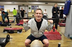 Patrik Nyberg har tränat på gym i flera år.