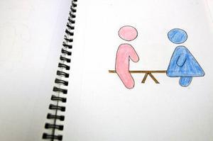 Micaela Hallström har gjort teckningarna till pekboken.