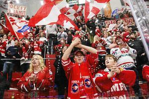 PUBLIKEN. I grundserien hade Timrå ett publiksnitt på 3061 i NHK Arena.