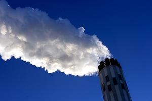 Anmält. Värmeverket släpper ut för mycket kolmonoxid. Foto: Peter Krüger/Arkiv