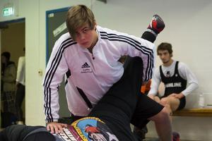 Linus Andersson går Brottningsgymnasiet.